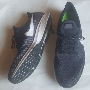 Nike Zoom Pegasus 35 Mens Black Sneakers Size 15